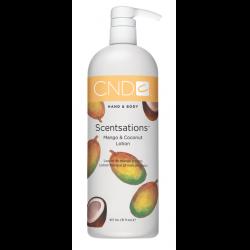 Mango & Coconut Lotion 31oz Scentsations CND