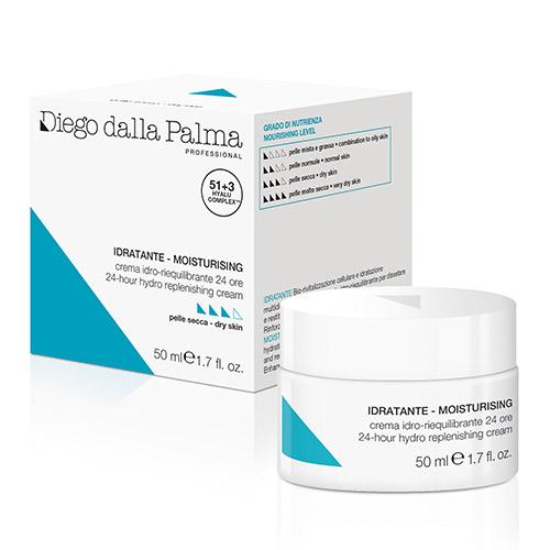 24-Hr Hydro-Replenishing Cream 50 ml jar Dry Skin Moisturising DDP Skinlab