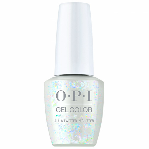 """GelColor - All A'twitter in Glitter """"Shine Bright Holiday 2020"""" 1/2oz OPI"""