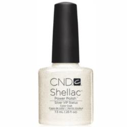 Silver VIP Shellac 1/4 oz (7.3ml) CND