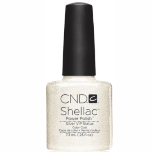Silver VIP Shellac 1/4 oz (7.3ml) CND