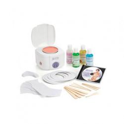 Satin Smooth Single Heater Professional Wax Kit