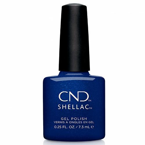 """Sassy Sapphire Shellac 1/4oz (7.3ml) """"Crystal Alchemy"""" CND"""