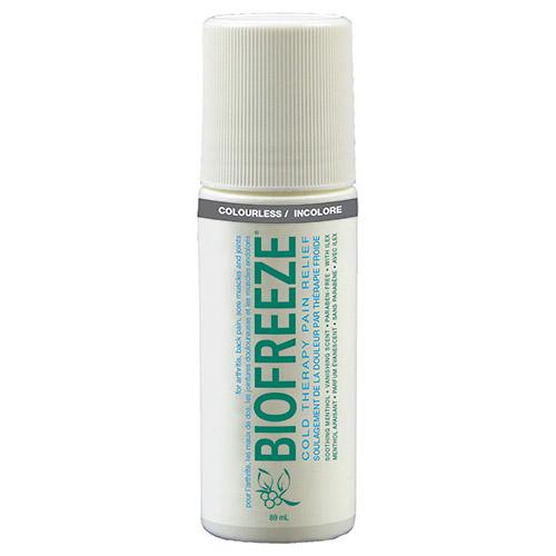 fc64637e4e20a Biofreeze Cooling Gel 3 oz Roll On Tube (INCLUDES 3 SAMPLES + BROCHURE)