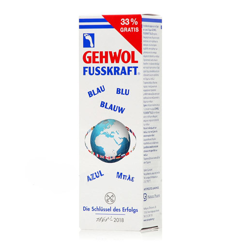 Blue Foot Cream 100ml - Limited Time Promo Gehwol (33% more, FREE)