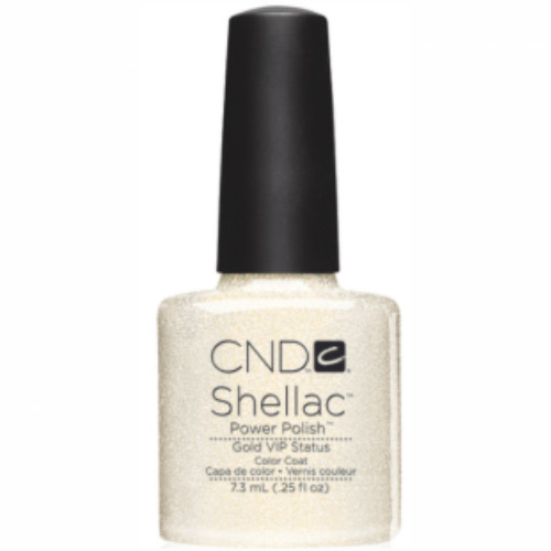 Gold VIP Shellac 1/4oz (7.3ml)  CND