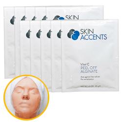 Vitalize Vitamin C Alginate Peel Off Powder Mask (1 each) 30gr Skin Accents