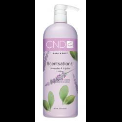 Lavender & Jojoba 31oz Lotion Scentsations CND