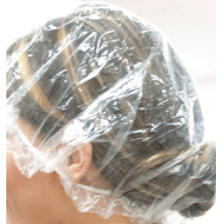 Disposable Plastic Head Caps 50pk
