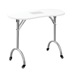 """Manicure Table Darkwood W/Drawer """"Portable"""""""