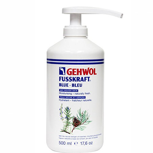 Blue Foot Cream 500ml (Refill) With Pump - Gehwol