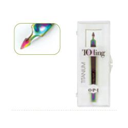 Dexterity Titanium Dual Edge Nail Plate cleaner Free exfo. cuticle treatment OPI