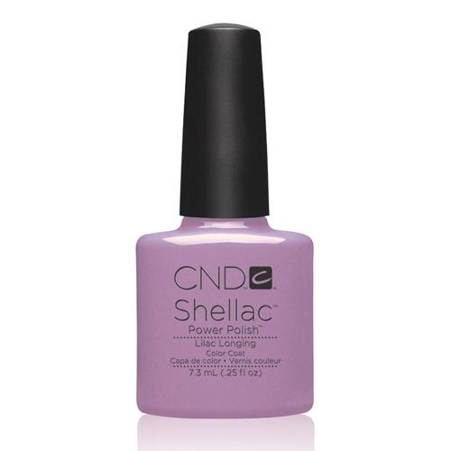 Lilac Longing Shellac 1/4oz (7.3ml)CND
