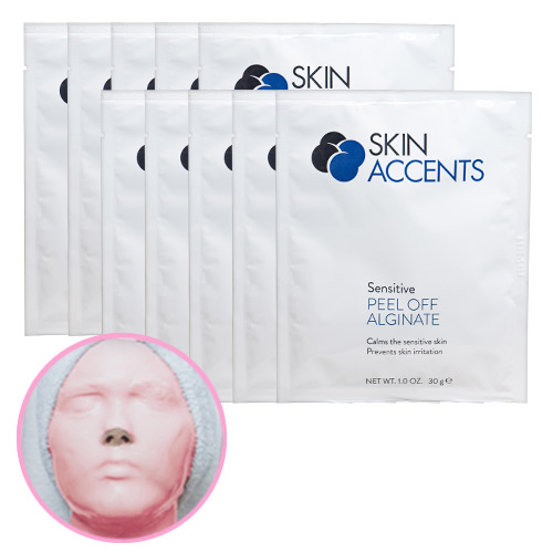 Extreme Hydration Sensitive Alginate Peel Off Powder Mask(ea) 30gr Skin Accents
