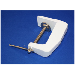 Clamp For Manicure Table White