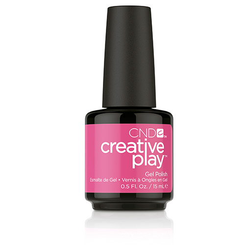 Creative Play GEL Polish #472 Read My Tulips (15ml) 0.5 oz CND