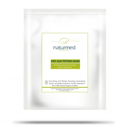 Anti Age Peptides Mask Serum 20 ml/10 sheet masks Naturmed Cristina D