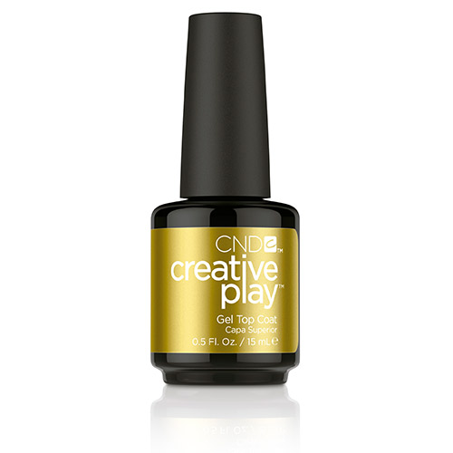 Creative Play GEL Polish Top Coat (15ml) 0.5 oz CND