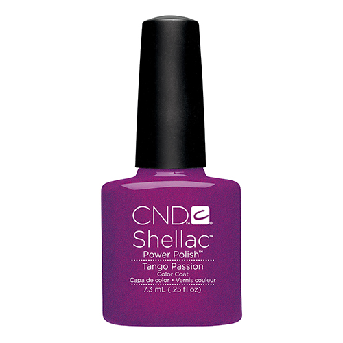 Tango Passion Shellac 1/4oz (7.3ml) CND