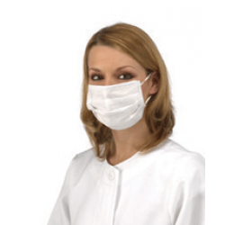 Disposable Face Masks With Ear Loops 50/Box (latex free)