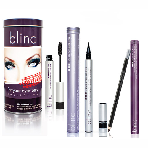 Blinc Kit - Blinc Eyeliner Pencil Black, Mascara Black, Eyeliner Black