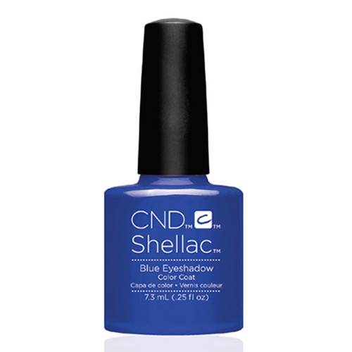 "Blue Eyeshadow Shellac 1/4 oz (7.3 ml) ""New Wave Collection 16"" CND"