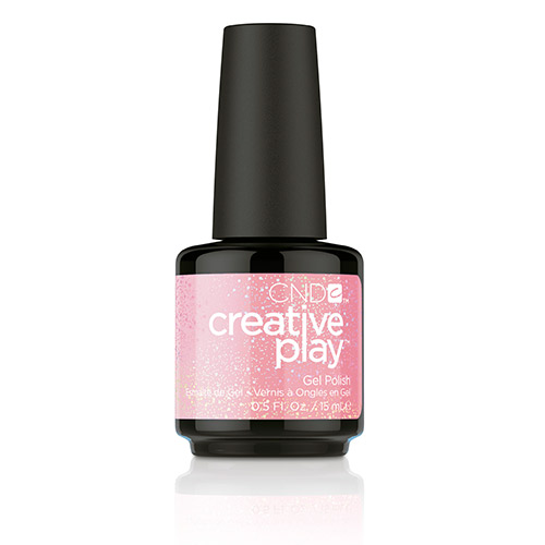 Creative Play GEL Polish #471 Pinkle Twinkle (15ml) 0.5 oz CND discontinued