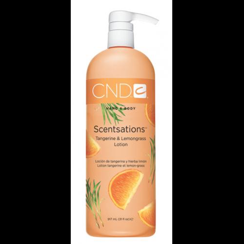 Tangerine & Lemongrass 31oz Lotion Scentsations CND