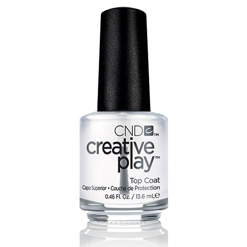 Creative Play Top Coat (15ml) 0.5 oz CND - discontinued