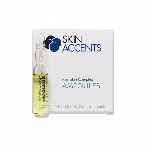 Fair Skin Lightening Ampoule Box/25 Skin Accents