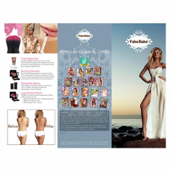 Fake Bake Brochures Trifold 50/pk