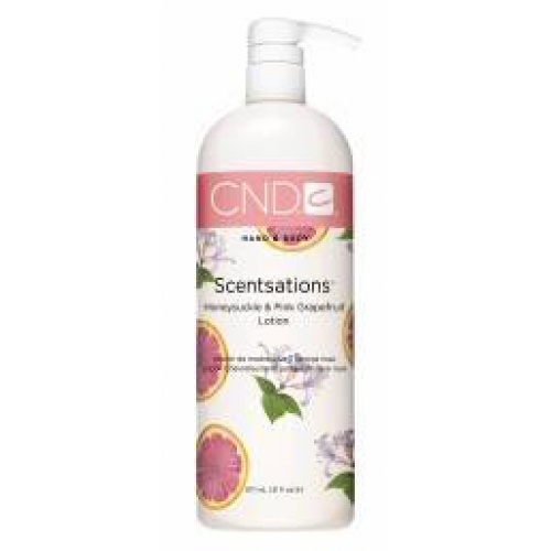 Honeysuckle & Grapefruit 31oz Lotion Scentsations CND