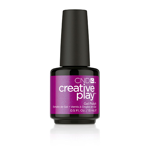 Creative Play GEL Polish #442 The Fuchsia Is Ours (15ml) 0.5 oz CND discontinued