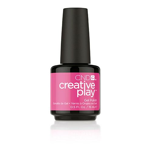 Creative Play GEL Polish #409 Berry Shocking (15ml) 0.5 oz CND discontinued