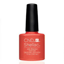 "Jelly Bracelet Shellac 1/4 oz (7.3 ml) ""New Wave Collection"" CND"