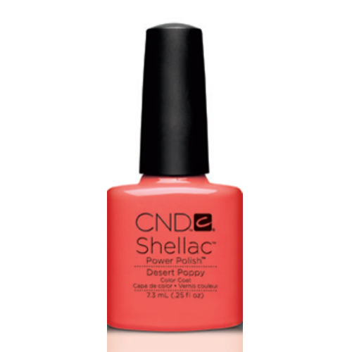 Desert Poppy Shellac 1/4oz (7.3ml) CND