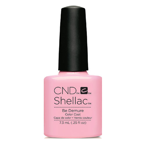 "Be Demure Shellac 1/4 oz (7.3 ml) ""Flirtation Collection"" CND"