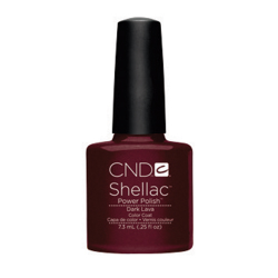 Dark Lava Shellac 1/4oz (7.3ml) CND