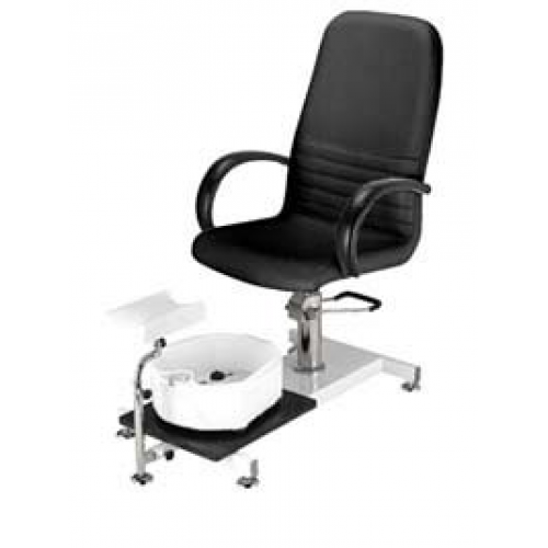 Hydraulic Pedicure Chair Black