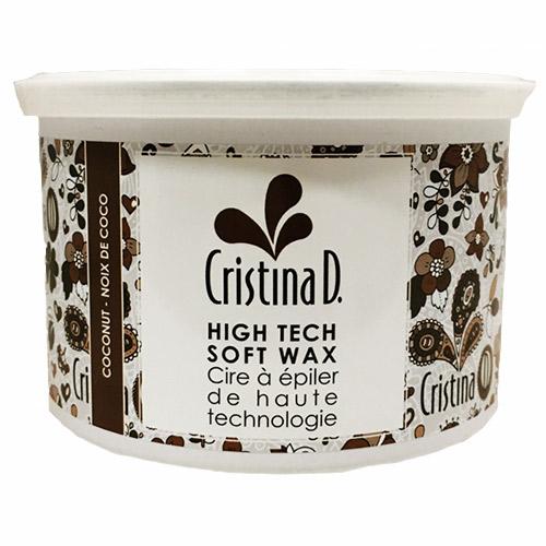COCONUT CREAM WAX High Tech Wax 400ml CAN Cristina D