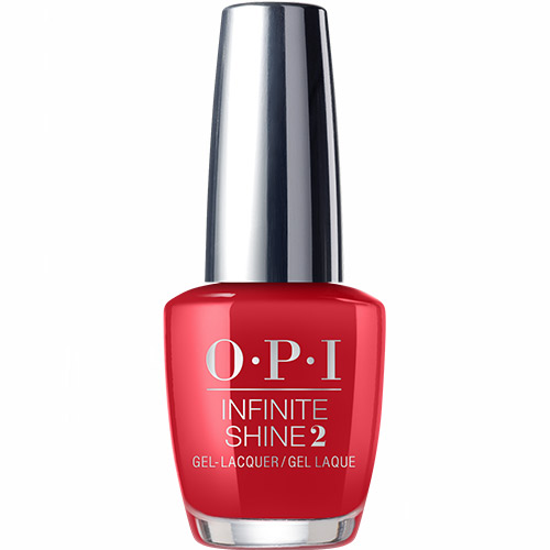 Infinite Shine Big Apple Red Gel Effects Lacquer 1/2 oz OPI