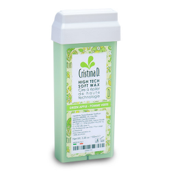 Roll On High Tech Soft Wax GREEN APPLE 100ml Cristina D