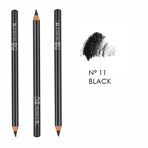 Eye Pencil 11 Black RVB Lab The Make Up