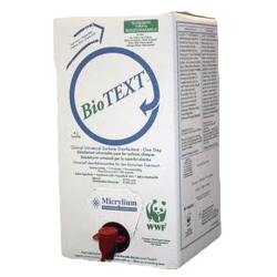 Micrylium BioText Universal Surface Disinfectant 5 litre bag in a box w/spout