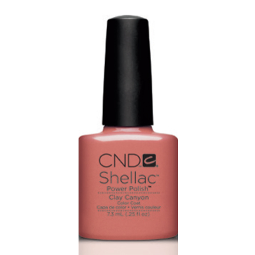 Clay Canyon Shellac 1/4oz (7.3ml) CND