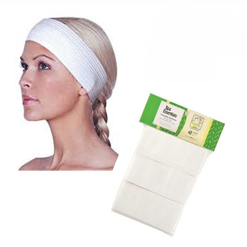Disposable Headband 48/pk White Spa Essentials
