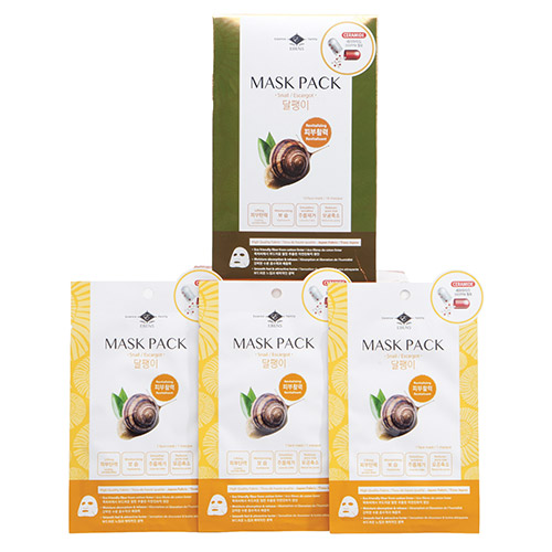 Ceramide Mask Pack Snail (revitalizing/Anti-age) box of 10 sheet masks