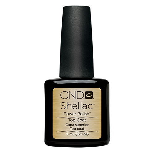 Top Coat Shellac .5oz (15ml) CND large size