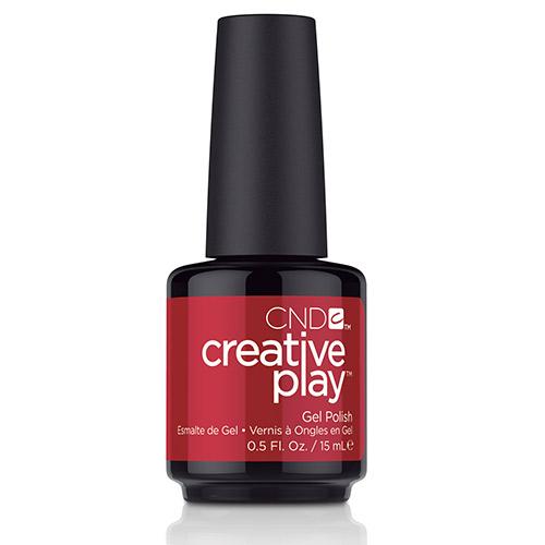 """Creative Play GEL Polish #508 Red Tie Affair """"Wonderball"""" (15ml) 0.5 oz CND"""