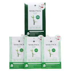 Ceramide Mask Pack Aqua/Smooth (sensitive skin)  box of 10 sheet masks